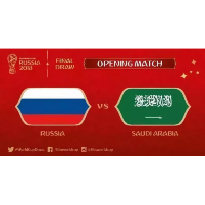 The Opener Of 2018 World Cup Begins!